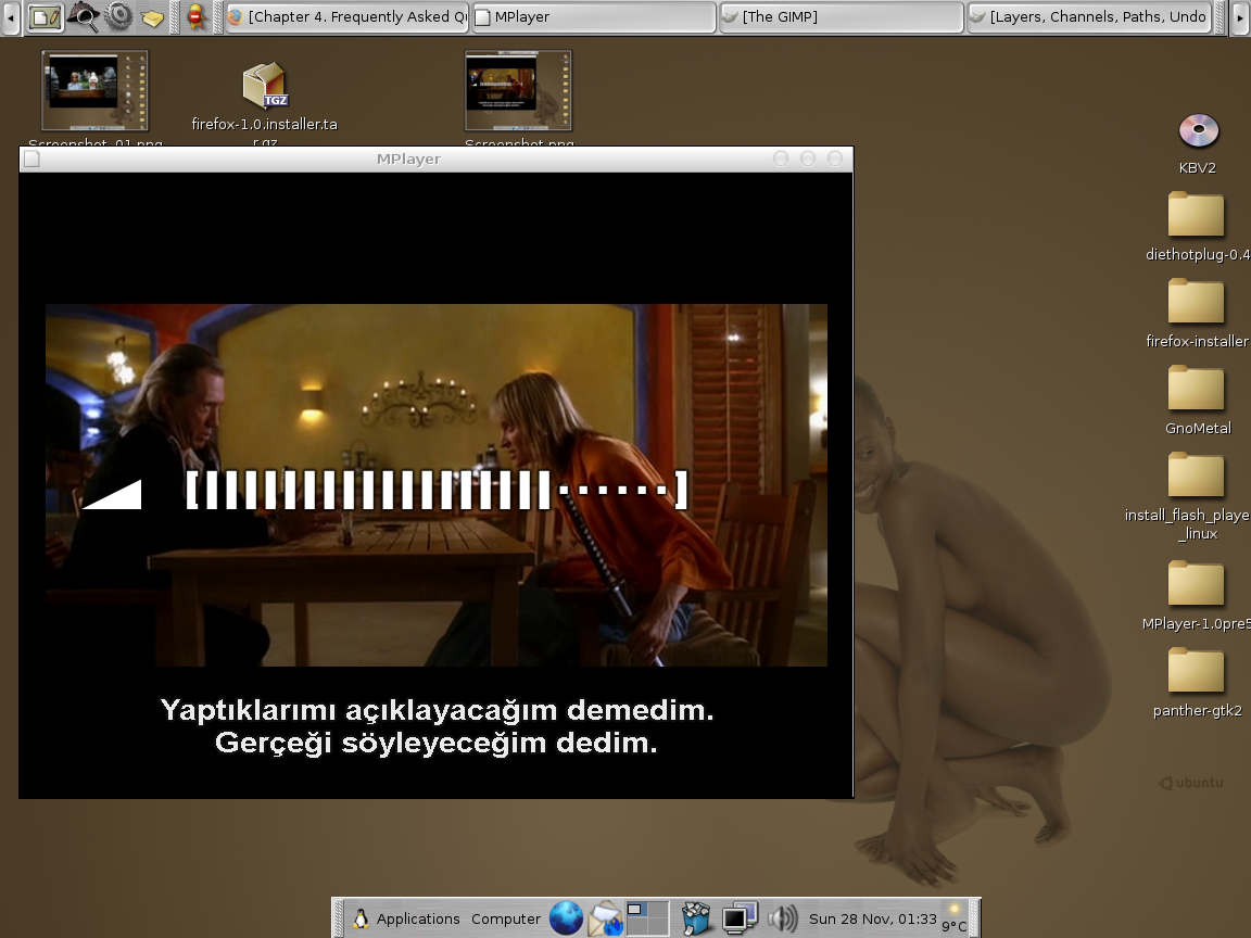 mplayer - movie player for linux