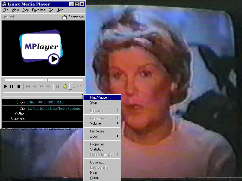 MPlayer - The Movie Player